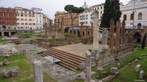 Rome Italy Largo di Torre Argentine