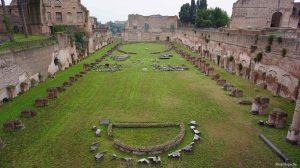Rome Italy Palatine Hill