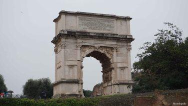 Rome Italy Roman Forum Arch of Titus