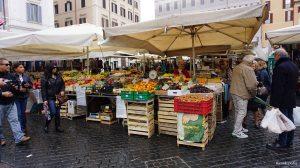 Rome Italy Campo de Fiori