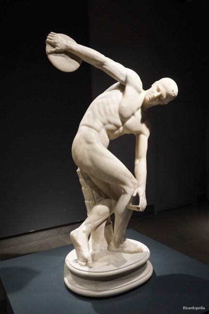 Rome Italy Discus Thrower
