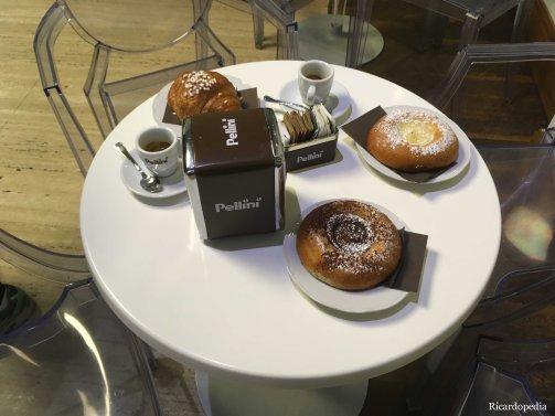 Rome Italy Breakfast pastries
