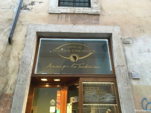 Rome Italy pastry shop