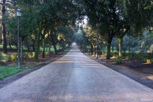 Rome Italy Borghese Villa