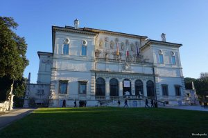 Rome Italy Borghese Gallery