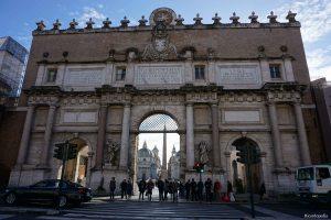 Rome Italy Puerta del Popolo