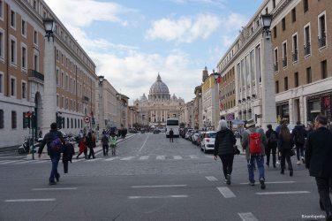 Approaching Vatican City