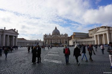 Rome Italy Vatican City St Peter's Square