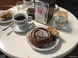 Rome Italy Breakfast Pastry