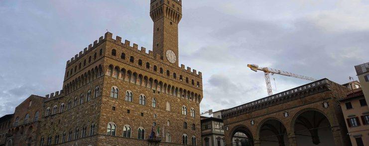 Florence Italy Palazzo Vecchio