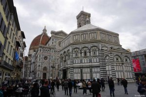 Florence Italy Duomo Baptistry