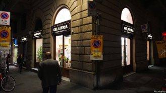 Florence Italy Santa Trinita Gelateria