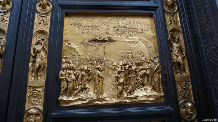 Florence Italy Baptistry Doors