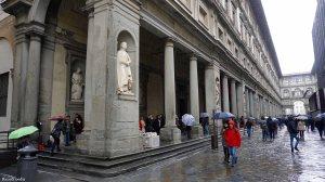 Florence Italy Uffizi Gallery