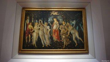 Florence Italy Uffizi Gallery Primavera