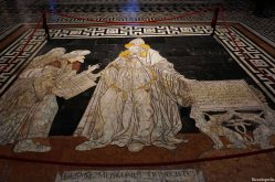 Siena Italy Cathedral Floor Mosaic