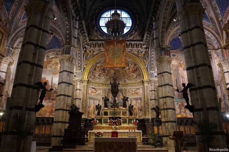Siena Italy Cathedral Altar
