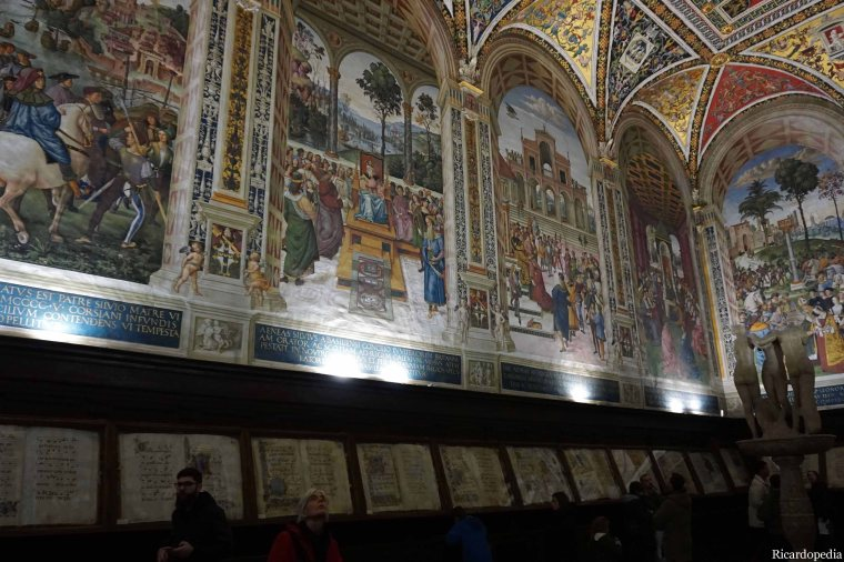 Siena Italy Cathedral Piccolomini Library