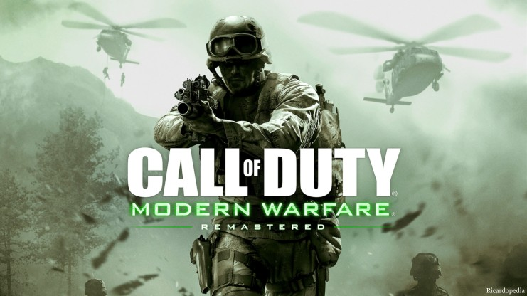 Call of Duty Modern Warfare Remastered PS4 Logo