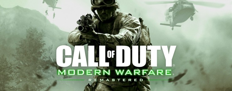 Call of Duty Modern Warfare Remastered PS4 Logo