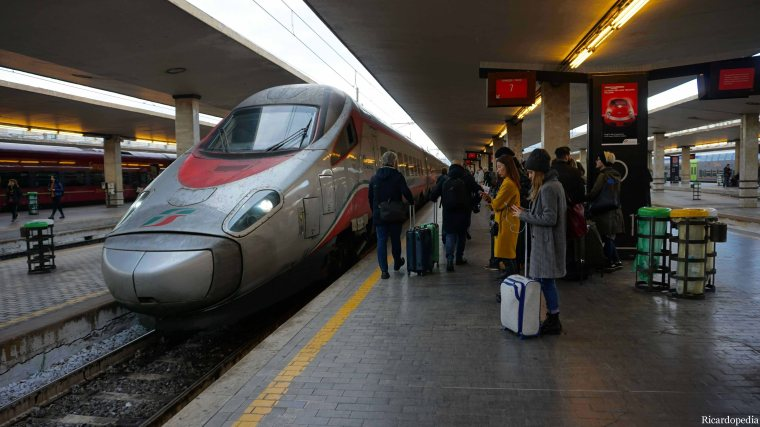 Florence Italy Train