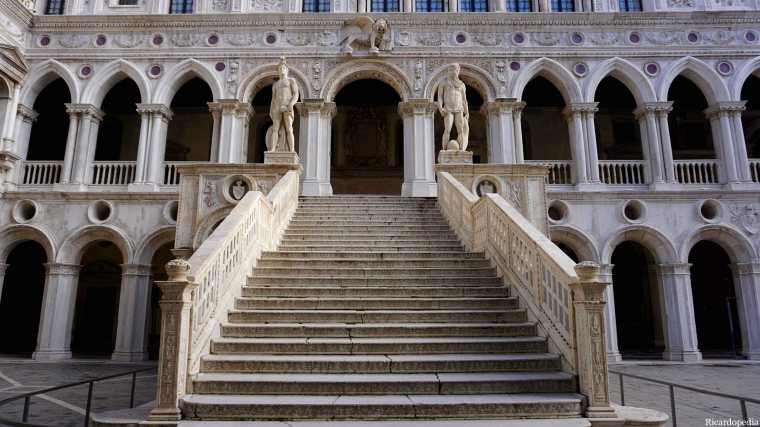 Venice Italy Doge's Palace Giant's Staircase