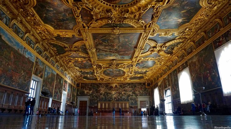 Venice Italy Doge's Palace Great Council