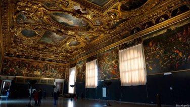 Venice Italy Doge's Palace Senate Chamber