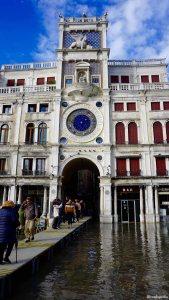 Venice Italy St Mark's Clocktower