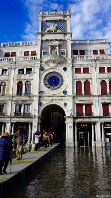 Venice Italy St Mark's Clocktower