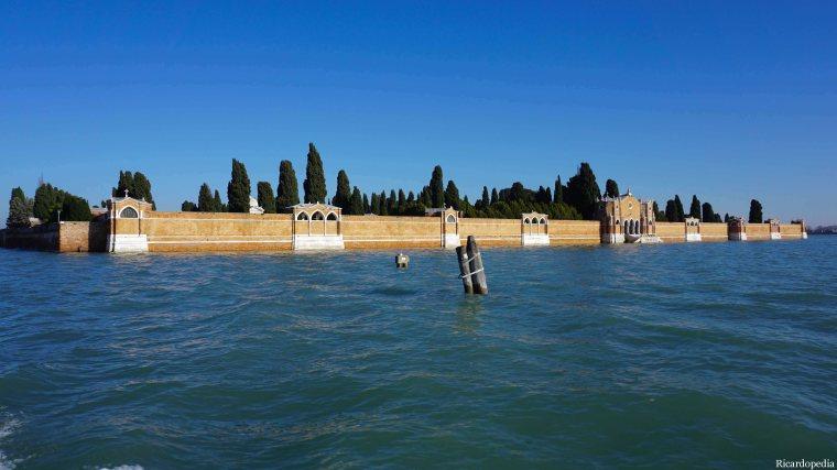 Venice Italy Cemetery Island