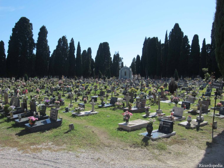 Venice San Michele Cemetery Island