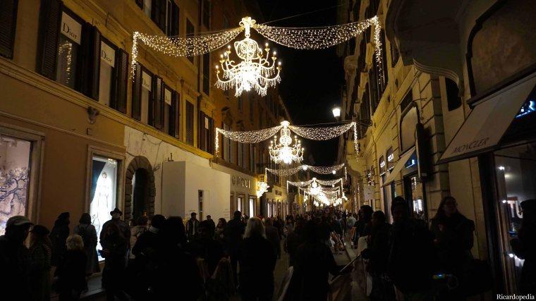 Rome Italy Via dei Condotti