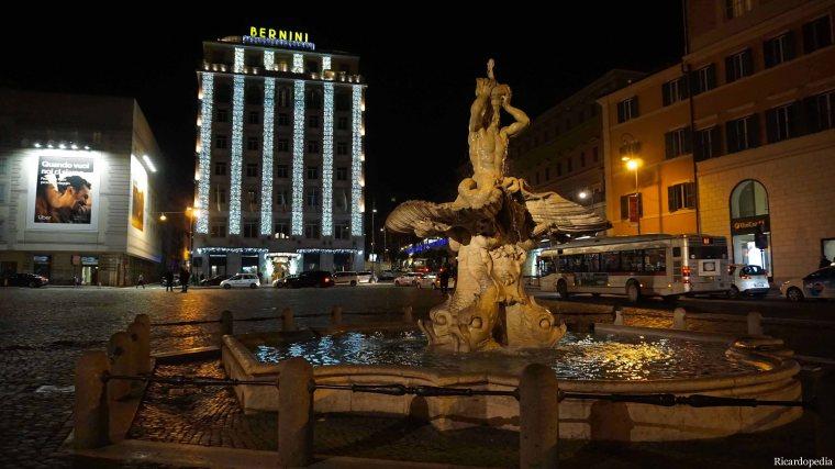 Rome Italy Fontana del Tritone