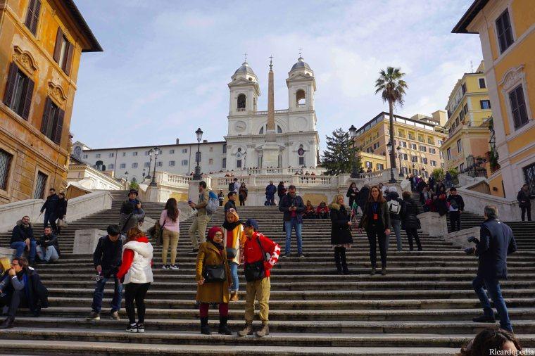 Rome Italy Spanish Steps