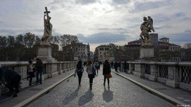 Rome Italy Ponte Sant'Angelo