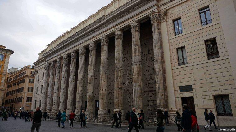 Rome Italy Piazza di Pietra