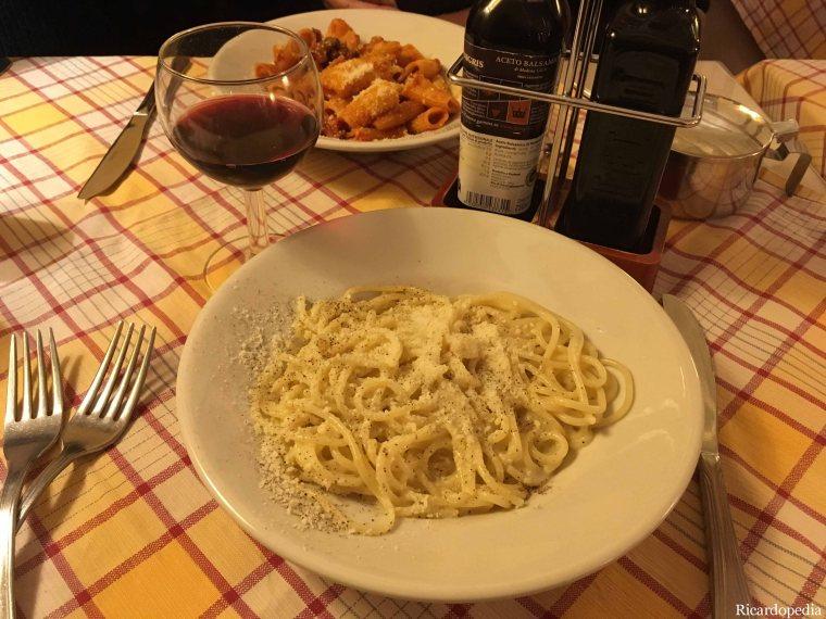 Rome Italy Pasta
