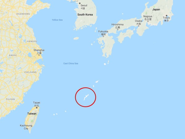 Okinawa Map Screenshot