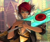 Transistor Red Character