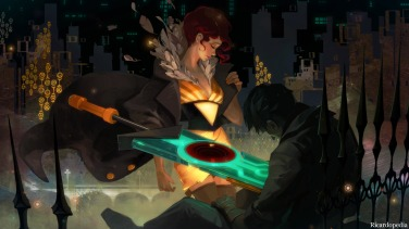Transistor PS4 Screenshot 1