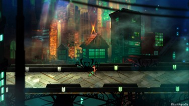 Transistor PS4 Screenshot 2