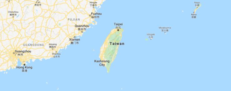 Taiwan Google Maps