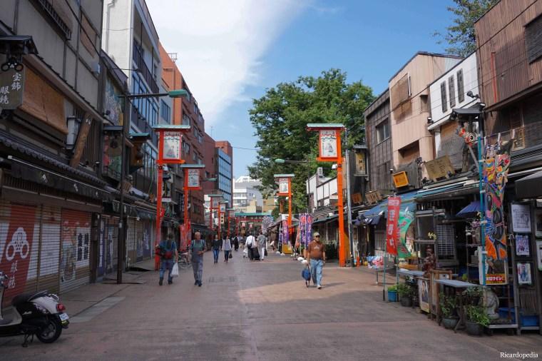 Tokyo Asakusa Dempoin Street