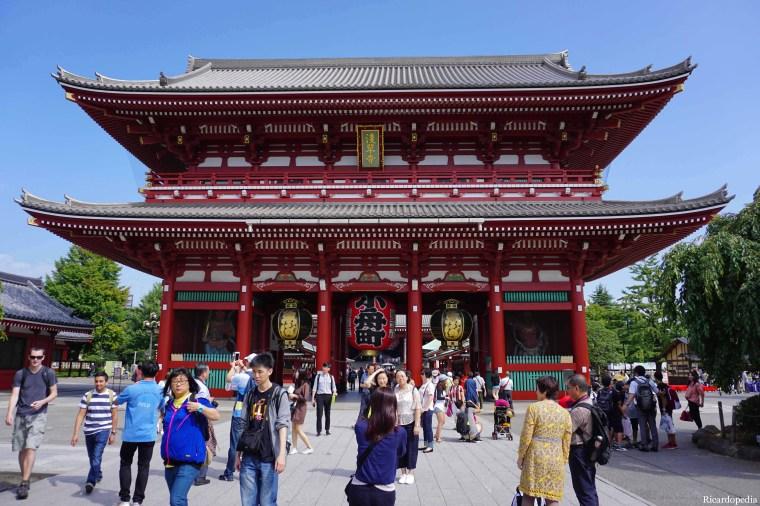 Tokyo Asakusa Hozomon Gate
