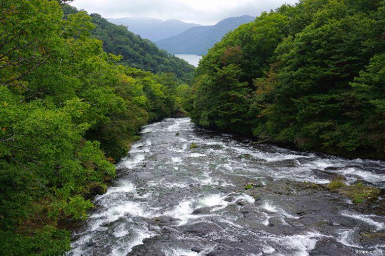 Ryuzu Falls Lake Chuzenji Nikko Japan