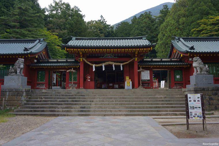 Lake Chuzenji Futarasan Shrine Japan