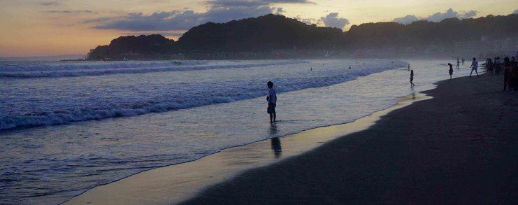 Kamakura Beach Sunset