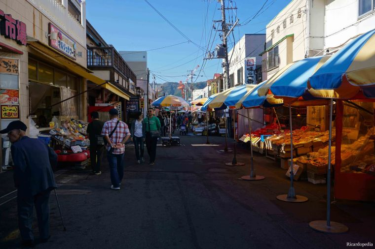 Hakodate Japan Morning Market