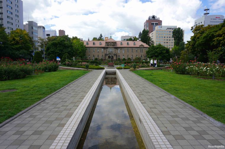 Sapporo Japan Odori Park